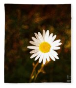 Daisy Is Single But Not Lonely  Fleece Blanket