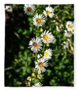 Daisy Production Line Fleece Blanket