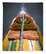 Dal Lake, Srinagar, Kashmir, India Fleece Blanket