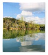 Dale Hollow Tennessee Fleece Blanket