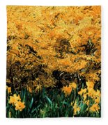 Dali Spring 1 Fleece Blanket