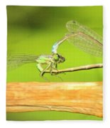 Damselflies Fleece Blanket