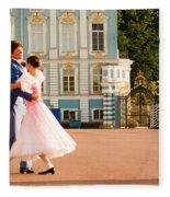 Dance At Saint Catherine Palace Fleece Blanket