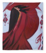 Dance In The Middle East   Fleece Blanket
