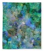 Dance Of The Flowers Fleece Blanket