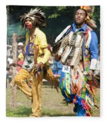 Dancers Male Fleece Blanket