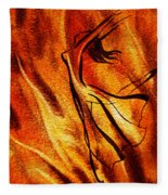 Dancing Fire Vi Fleece Blanket