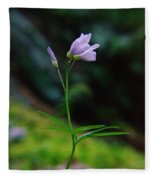 Dancing Flower Fleece Blanket