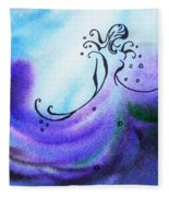 Dancing Water II Fleece Blanket