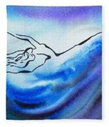 Dancing Water IIi Fleece Blanket