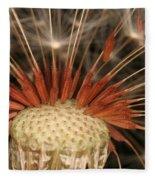 Dandelion Seeds Fleece Blanket