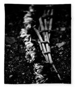 Dandelion Wreath Fleece Blanket