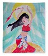 Danse Du Ventre Fleece Blanket