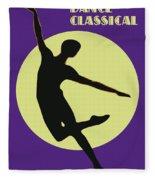 Classical Dancer Fleece Blanket