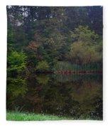 Dark Lake 1 Fleece Blanket