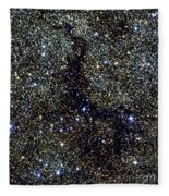 Dark Nebula, G11.11-0.12, Infrared Image Fleece Blanket