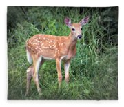 Darling Fawn Fleece Blanket