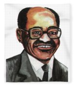 David Blackwell Fleece Blanket