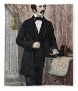 David Livingstone, Scottish Missionary Fleece Blanket