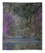 Davis Arboretum Creek Fleece Blanket