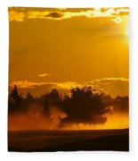 Dawn 2 Fleece Blanket