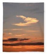 Dawn August 1 2012 Fleece Blanket