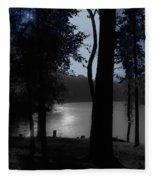 Day Or Night Fleece Blanket