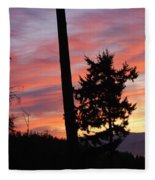Daybreak On The Island Fleece Blanket