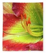 Daylily Fleece Blanket