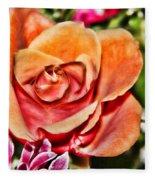 Dazzling Rose Fleece Blanket