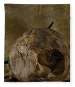 Dead Rosebud Fleece Blanket