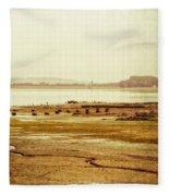 Death Of Poetry Fleece Blanket