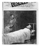 Death Of Ulysses S. Grant Fleece Blanket