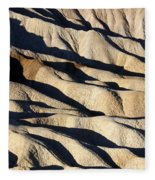 Death Valley Erosion Fleece Blanket