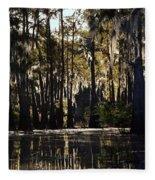 Deep Swamp Fleece Blanket