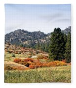 Deerborn Fall Fleece Blanket