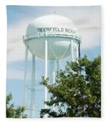 Deerfield Beach Tower Fleece Blanket