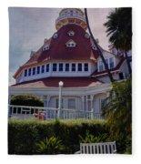 Del Coronado Hotel San Diego  Fleece Blanket