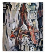 Delaunay: Eiffel Tower, 1910 Fleece Blanket