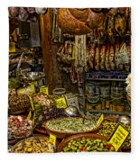 Deli In Palma De Mallorca Spain Fleece Blanket