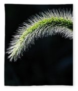 Delicate - Greeting Card Fleece Blanket