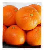 Delicious Cara Cara Oranges Fleece Blanket