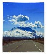 Denali Highway Fleece Blanket