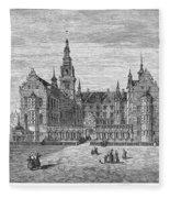 Denmark: Frederiksborg Fleece Blanket