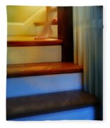 Descending The Stairs Fleece Blanket