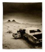 Desert Arizona Usa Fleece Blanket