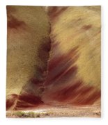 Desert Brushstrokes Fleece Blanket