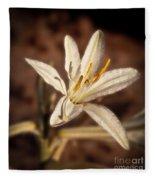 Desert Easter Lily Fleece Blanket