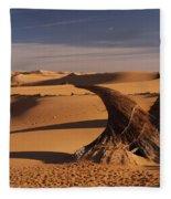 Desert Luxury Fleece Blanket
