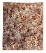 Desert's Collection Of Dried Flowers 2 Fleece Blanket